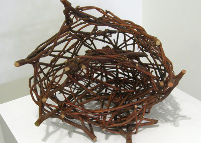 Windrift Baskets (Marigold Cribb), 2000: Willow; Woven. $150