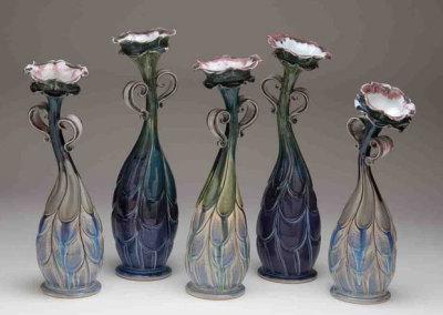 Sisters, 2010 - Kathryne Koop - Porcelain, $2,250 (set)