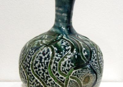 Vessel 18 (Mel Bolen), 2013: Salt glazed stoneware. $700