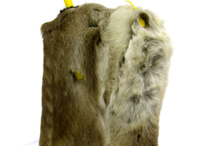 Jerry (Tim Moore) 2010: Fur on found object. Collection of The Mann Art Gallery.