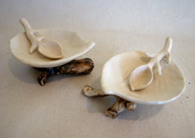 Salt of the Earth: Linda J. Leslie, Clay Table Servers for Salt