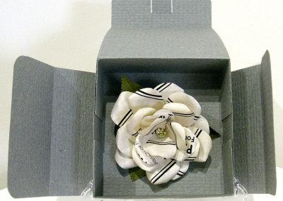 Cathryn Miller, Second Hand Rose: Paper; paper sculpting, paper folding. 2013, $250.