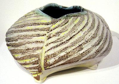 Vessel 15 (Mel Bolen), 2013: Salt glazed stoneware. $750