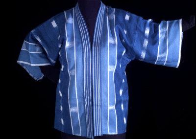 Indigo Ikat Jacket