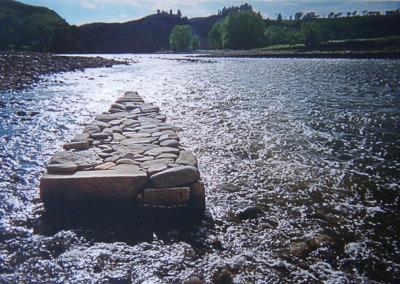 Hosaluk: Stone Wedge - 2013, Rocks, Old Man River, Photo Geneva Haley. $250
