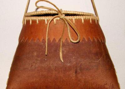 Oval Lidded Birch Bark Basket - Ida Seniantha