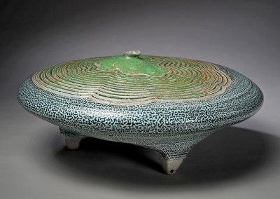 Vessel 13 (Mel Bolen), 2013: Salt glazed stoneware. $1,800