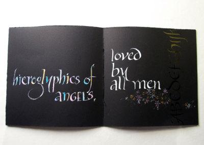 Flowers (Thea Lynn Paul), 2013: Calligraphy