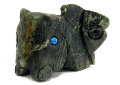 Untitled (Louise Halfe) 2013: Soapstone. $1,500.