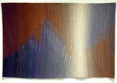 Untitled (Kaija Harris), 1979-1985: Wool; Woven. $12,000