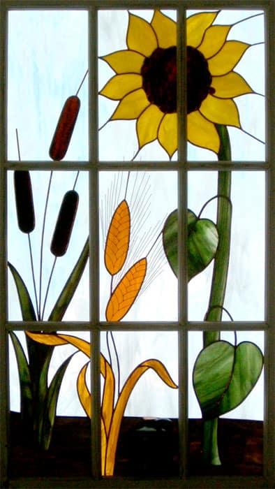 9 Panel Sunflower Wheat