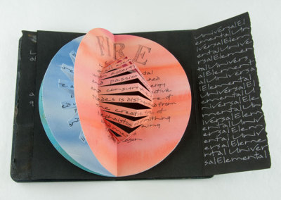 Universal, Elemental (Janice Peters), 2011: Artists' Books