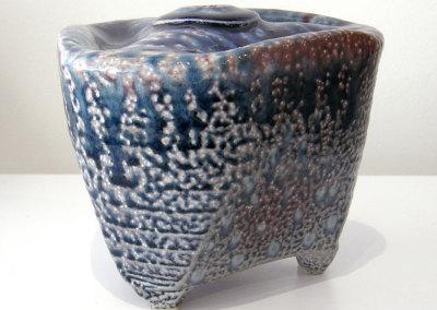 Vessel 7 (Mel Bolen), 2013: Salt glazed stoneware. Private Collection