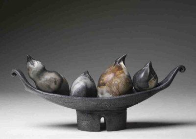 Quartetto, 2009 - Paula Cooley - Stoneware, terra sigillata, $490