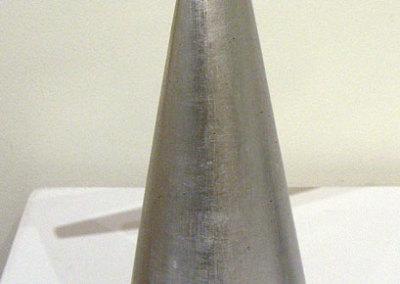 Joshua Enck, Providence, RI - Teeter, 2012. Wood, paint, aluminum leaf, $1,100.