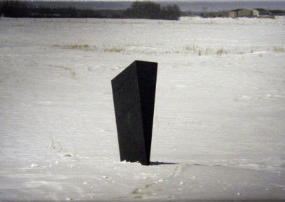 Hosaluk: Putting a Wedge in Winter - 2013, Photo Mike Hosaluk. $135