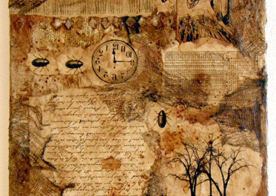 Traces: Judy Wood, Mixed Media Collage