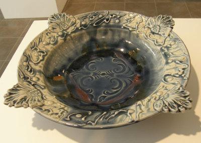 Blue Handled Bowl - Zach Dietrich