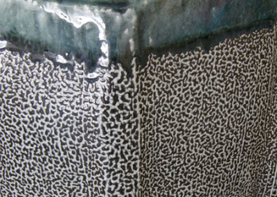 Vessel 6 (Mel Bolen), detail, 2013: Salt glazed stoneware. $950