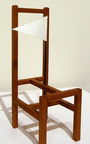 Jordan Gehman, Oakland, CA - Here, 2011. Mahogany, paper, $500