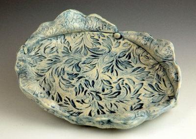 Annie's Plate: Teresa Gagne, Handbuilt Clay Plate