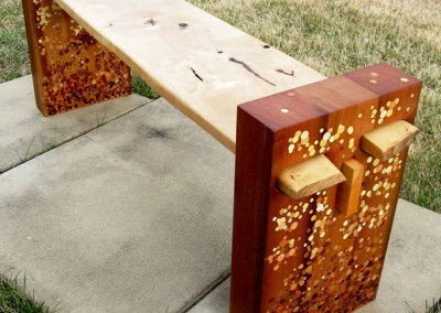 Effervescence Inlay Bench