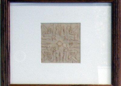 Untitled (Birch Bark Biting) (Bente Huntley) 2012: Birch bark. Collection of The Mann Art Gallery.