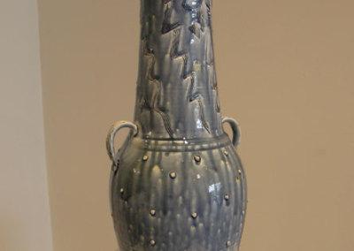 Blue Ash Vase - Zach Dietrich