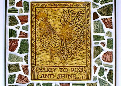 Rise and Shine - Rooster Mosaic