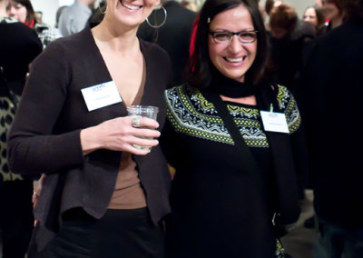 Seeds Reception - Kimberly Dickinson & Louisa Ferguson