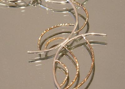 Neckpiece, Megan J. Hazel, 2011, Sterling silver
