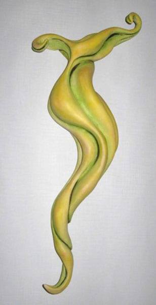 Entwined (green) - Paula Cooley