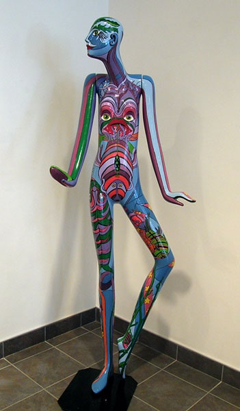 Untitled (Painted Mannequin) by Marie Korpan, Collection of Lou Paquette
