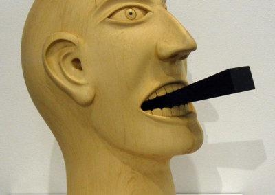 Hosaluk: Wedge Head - 2013, Steel. $650