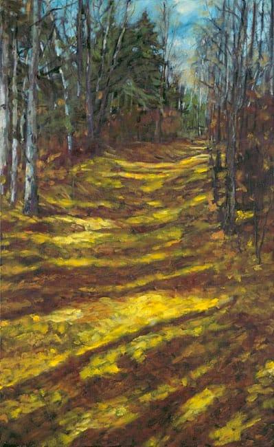 Filtered Light (Karen Holden), 2013: Oil on canvas. $1,400