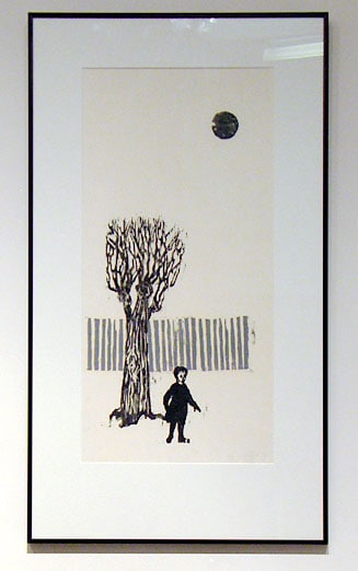 Alone by Agnes Dix, Collection of Ruth and Dr. Louis Horlick