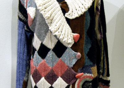 Hedi Gossweiler, Organized Chaos: Alpaca; knitting, crochet. 2012, $3,850.