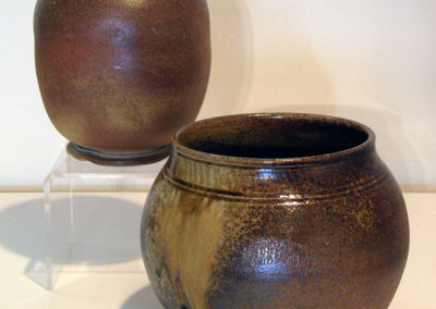 Wood Fired Vessel & Heavy Ash Drip Bowl: Jay Kimball