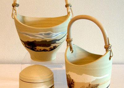 Mocha Diffusion: Ron & Rusty Kurenda, Clay, glazes
