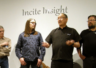 Incite Insight Reception: Curator Lee Baker