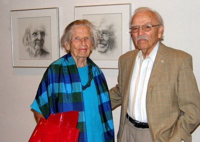 Ruth and Dr. Louis Horlick, Lifetime Honourary Members of the SCC