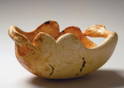 Grebe Courtship Bowl - Jamie Russell