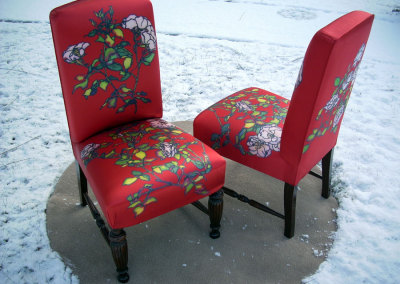 Red Rose Chairs