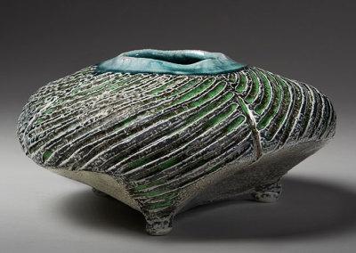 Vessel 14 (Mel Bolen), 2013: Salt glazed stoneware. $950