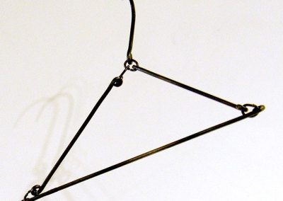 Zach Hauser, Saskatoon, SK - It's A Coathanger?, 2012. Forged steel, $285