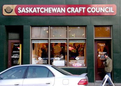 SaskCrea8 Reception