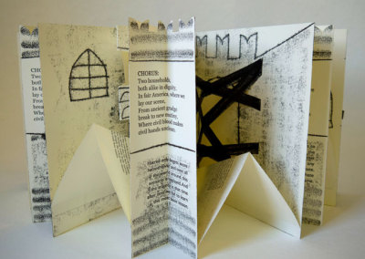 The Tragedy of Romeo and Juliet (Emily Martin), 2012: Artists' Books