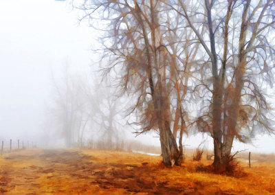 Painterly Morning Mist