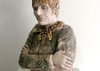 A Sense of Self (Wendy Parsons), 2012: Clay, glazes; Hand sculpted. NFS