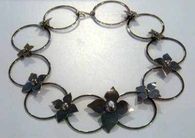 Persimmon Choker by Melody Armstrong